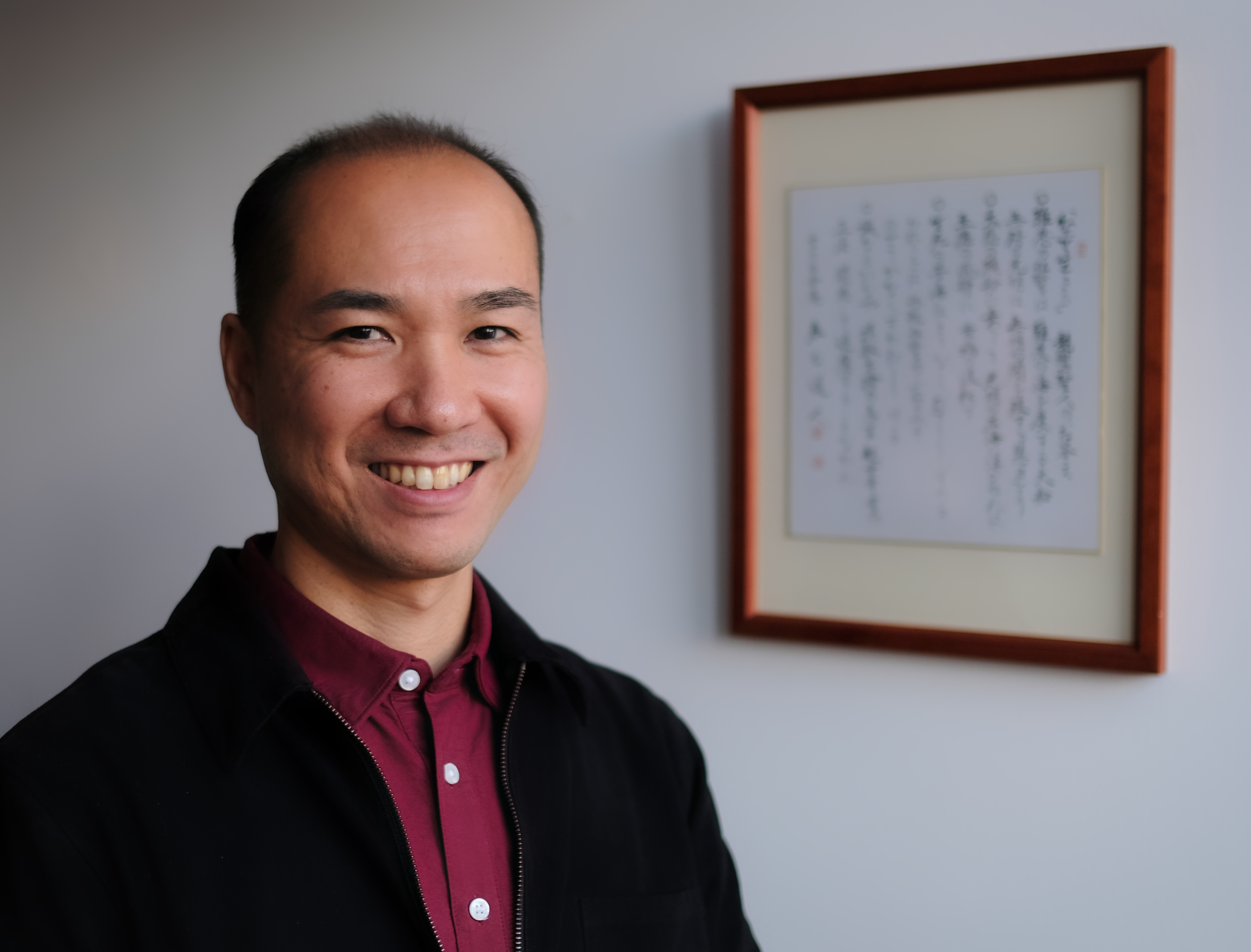 Prof. Mauro Nakamura Itiman's manager and also a Buddhist teacher