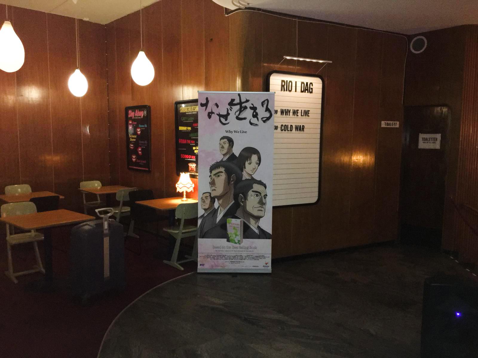 Exibição do Filme Porque Vivemos em Estocolmo