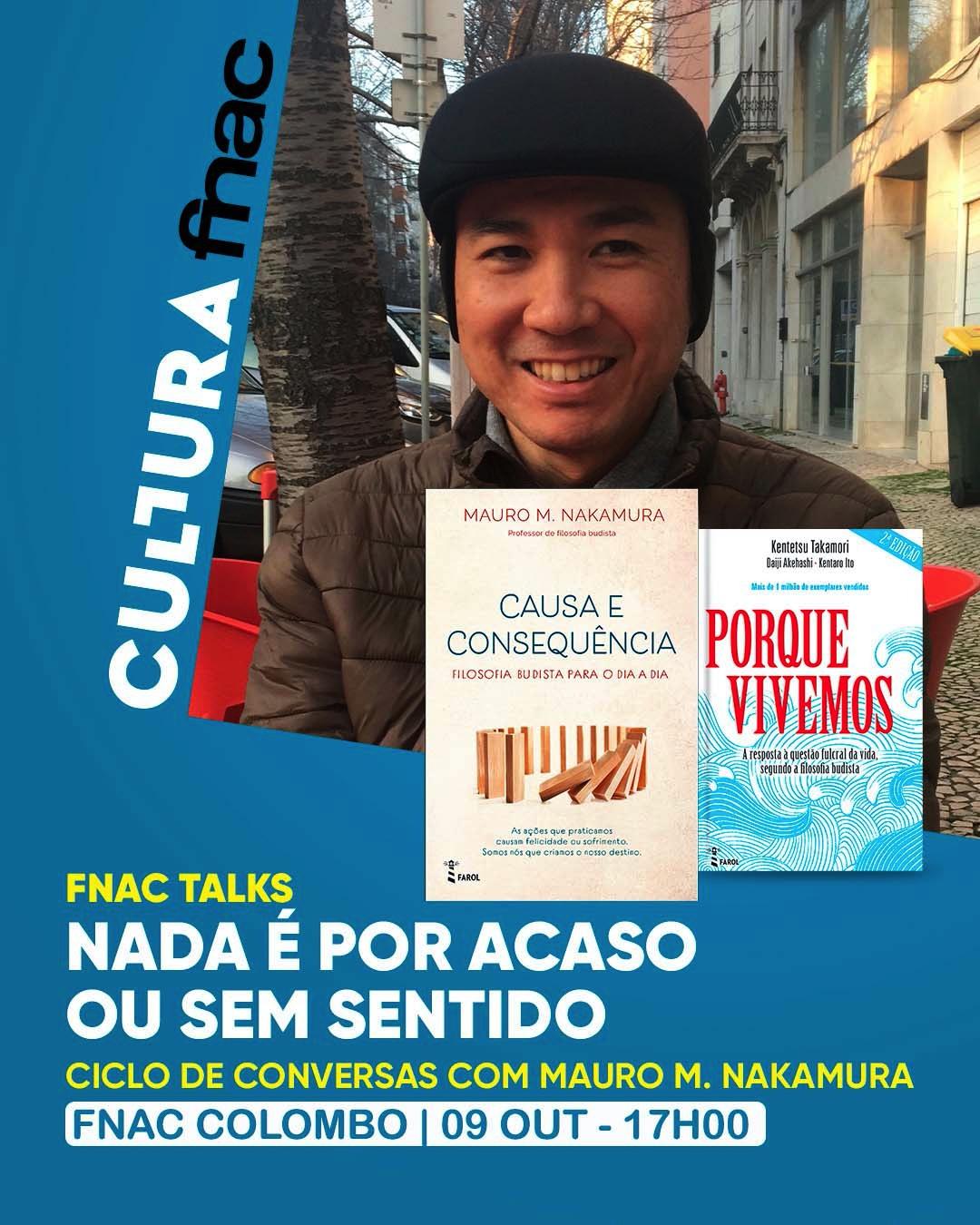 FNAC TALKS NO COLOMBO – LISBOA | Nada é por acaso ou sem sentido
